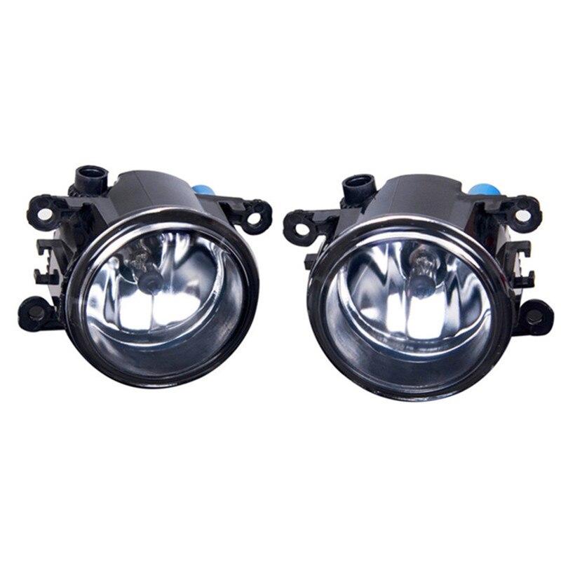 For FORD FOCUS Fusion TRANSIT Tourneo Fiesta C-Max TOURNEO GRAND C-MAX 2002-2015  Car styling Fog lights halogen lamps 1set шрус внутренний ford fiesta 01 fusion 02 1 4 1 6 мт go 1003