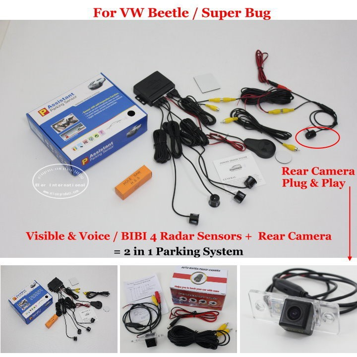 VW Beetle  Super Bug parking system