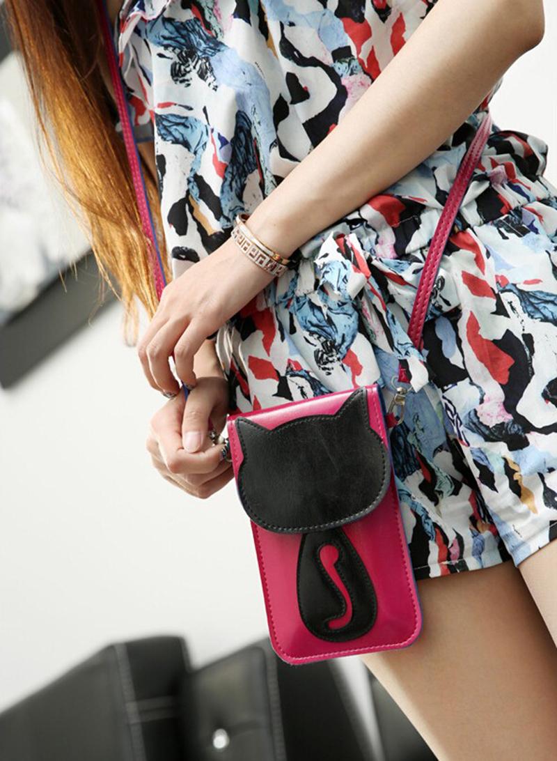 Cute Cat Shaped Handbag