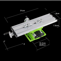 Mini precision multifunction worktable X Y axis Adjustment Workbench Bench Vise Fixture drill milling machine Bench Drill Vise