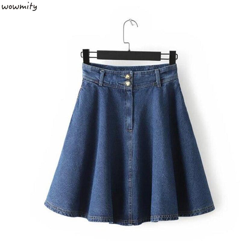 Popular Pleated Denim Skirts-Buy Cheap Pleated Denim Skirts lots ...