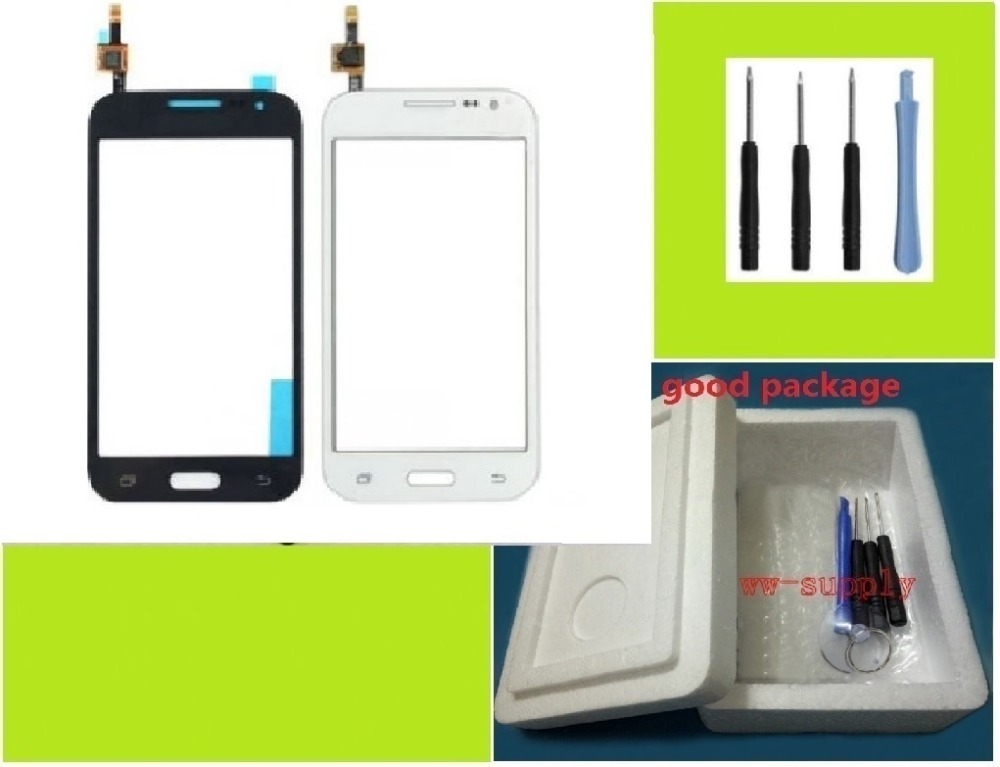 For Samsung Galaxy Core Prime SM G361F Front Top Touch Screen lens Digitizer Glass Panel Sticker