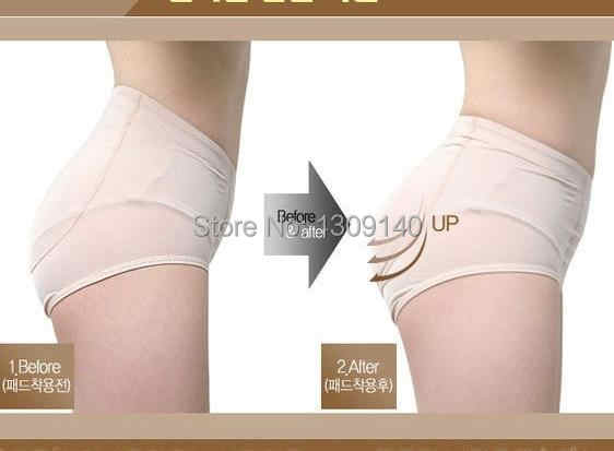 ddf2d89e5 ... Women Padded Panties False Butt Lift With Silicone Pads Removable Hip  And Butt Enhancer Fake Ass