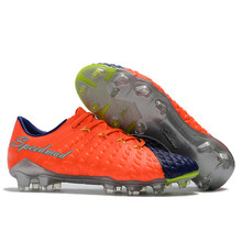 573b0db1d Soccer Shoes Men Original 3D Hypervenom Phantom III Elite FG Football Boots  Low Top Soccer Boots