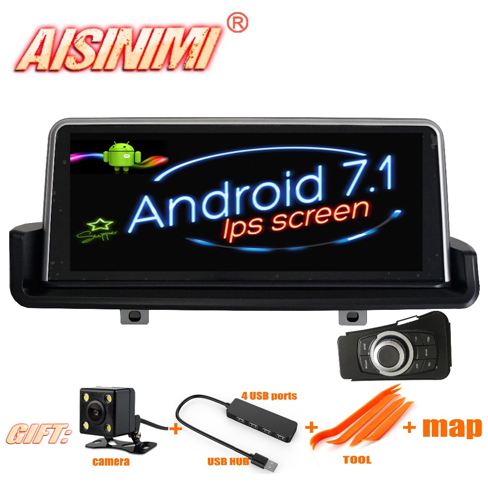 android 7 1 car dvd navi player for bmw e90 2006 2012 with idrive left driver only audio gps. Black Bedroom Furniture Sets. Home Design Ideas