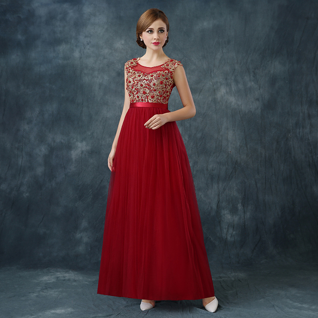 Langen Roten Abendkleid Eleglant 2016 Formalen Dinner Party kleid ...