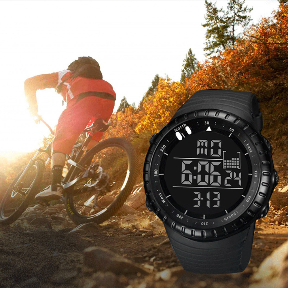 Fashion Watch Men reloj Stopwatch 30M Waterproof Men Outdoors Sport Watch Luminous Alarm Clock watch reloj inteligente mujer *A(China)