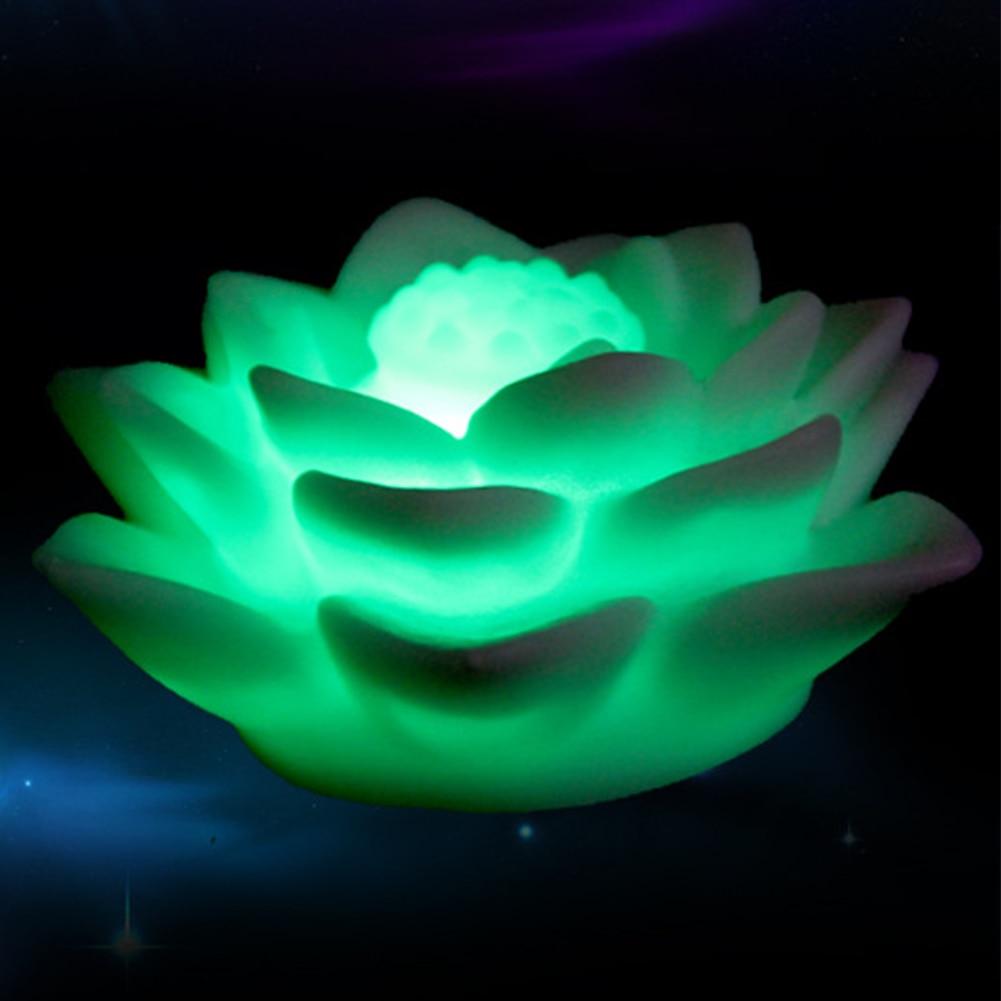 Image 4 - LED Romantic  Flower 7 Color Changed Lamp LED Night Light for Kids-in LED Night Lights from Lights & Lighting