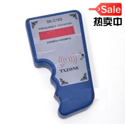 US $23 0  REMOTE KEYLESS ENTRY KEY FOB TRANSMITTER TESTER FREQUENCY COUNTER  Key Fob Tester IR & RF Key Fob Tester Frequency counter-in Burglar Alarm