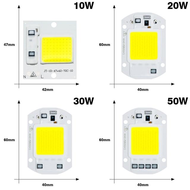 COB LED Lamp Chip 220V Smart IC LED Bulb Flood Light 2