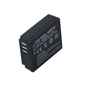 Image 3 - 3.7 v 1000 mAh CGA S007 CGA CGR BCD10 S007A S007 S007E סוללה עבור Panasonic DMC TZ1 TZ2 TZ3 TZ4 TZ5 TZ15 TZ50 bateria סוללות