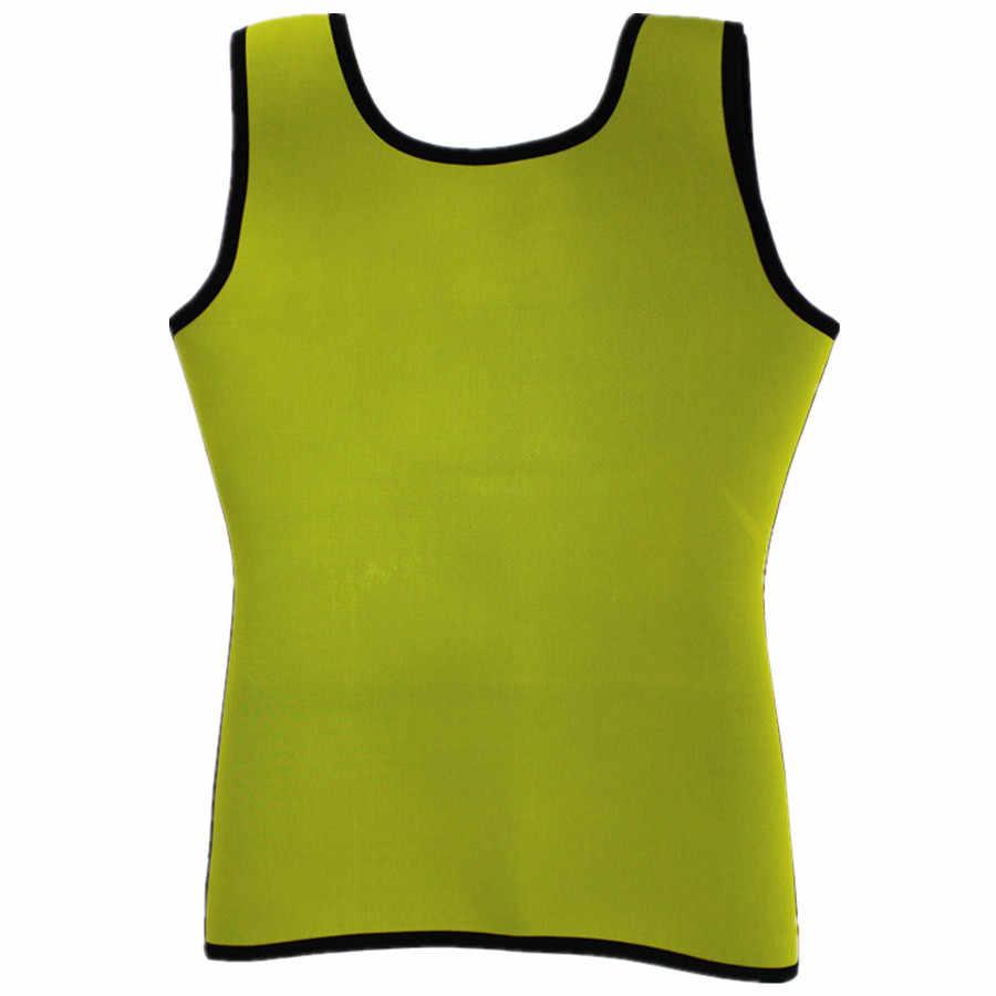 6015b17f77d ... Hot Shapers Vest Slim Vest Fitness Slim Body Shaper Corset Strap Waist  Trainer Tummy Women Sweat