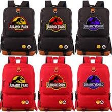 2018 Jurassic Dinosaur Skull Fossil Boy Girl School bag Women Bagpack Teenagers Schoolbags Canvas Men Student Backpack Packsack