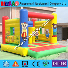 Pig Inflatable Bouncer By DHL to door(CE blower+repair kit)