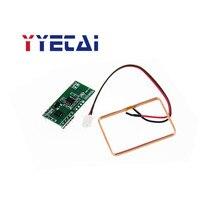 YongYeTaiSingle-chip mikrocomputer RDM6300 ID kartenleser modul RFID RF modul UART serielle ausgang kostenloser versand