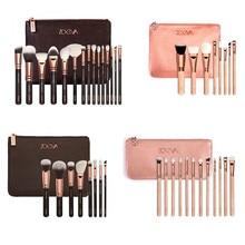 8/12/15pcs Rose Golden Makeup Brush Set Professional Complete Set Cosmetic Tools Kit Powder Blending brushes