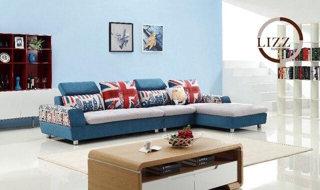 Uk Home Modern Living Room Fabric Sofa Set Lm26 Living Room L