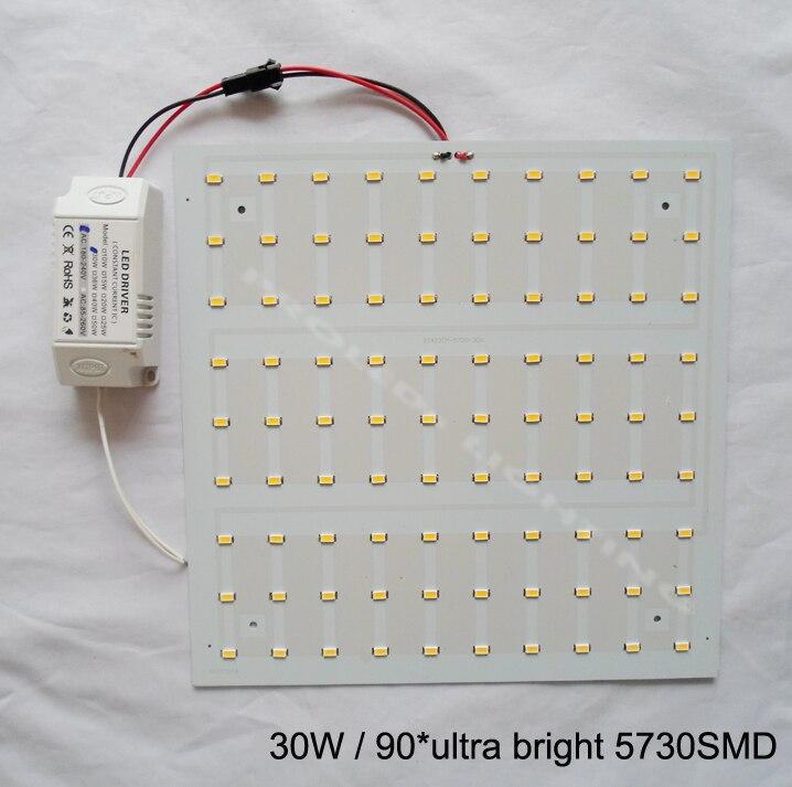 Քառակուսի հեշտ տեղադրում 5730SMD 30W - Ներքին լուսավորություն - Լուսանկար 2