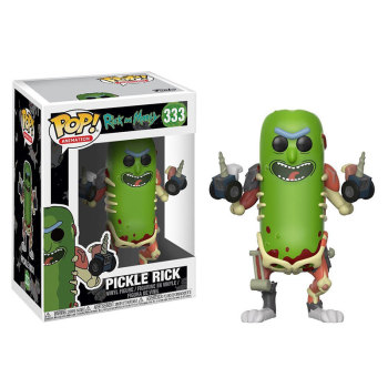 Funko pop Official Horror Movie: Rick and Morty - Pickle Rick Vinyl Figure  Model Toy with Original Box