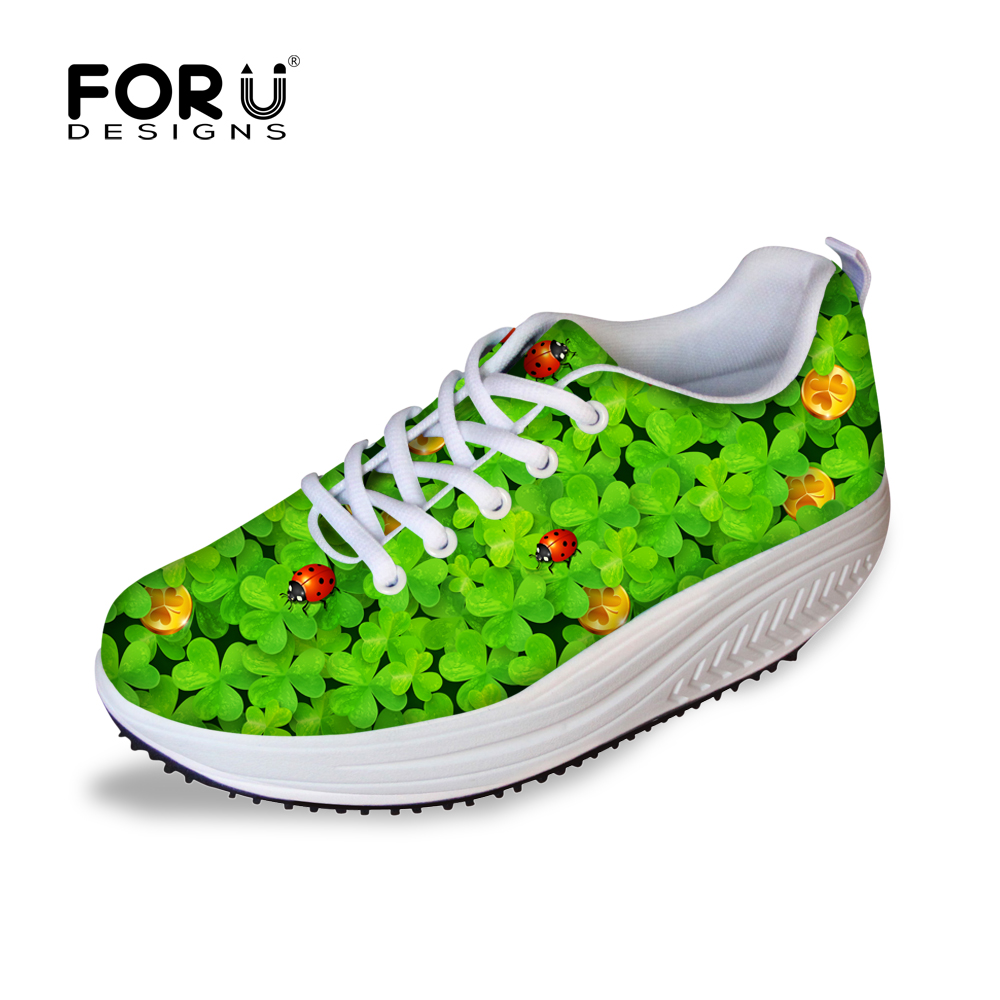 ФОТО Spring Summer 2016 Lose Weight Swing Shoes Flower High Quality Canvas Wedge Shoes for Women Breathable Zapatos Tenis Feminino