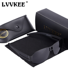 LVVKEE 2017 Top quality Classic Polarized sunglasses men's fashion metal frame Driving Sun Glasses UV400 Oculos De Sol Masculino