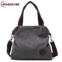 New 2016 Women Bag Vintage Canvas Handbags Messenger bags for Women Handbag Shoulder Bags High Quality Casual bolsa L4-2669