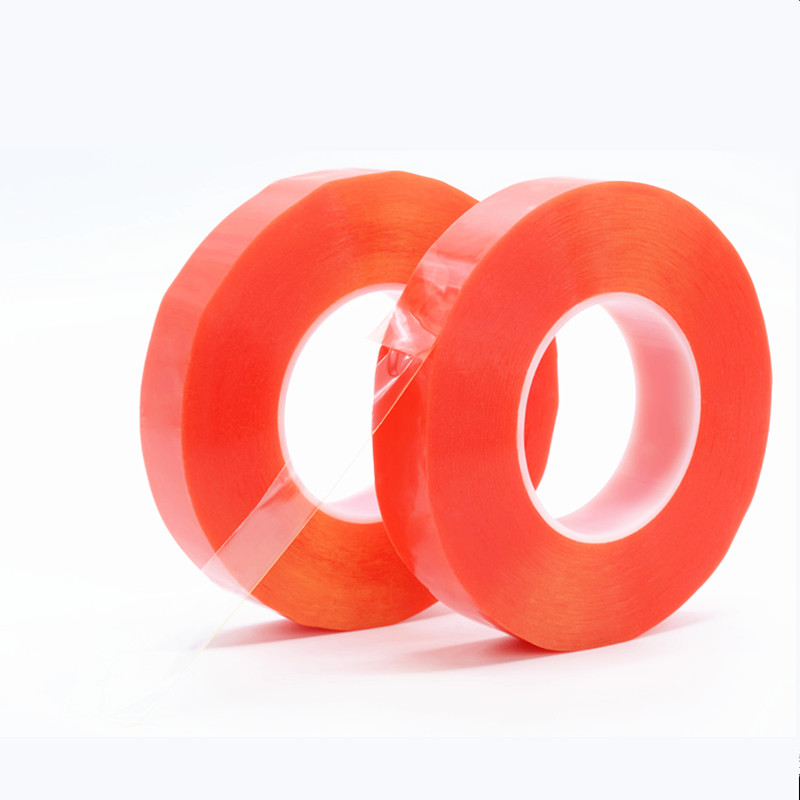 Double Side PE Tape Heat Resistant Double-side Transparent Adhesive Acrylic Tape 50M Waterproof mobile phone screen repairDouble Side PE Tape Heat Resistant Double-side Transparent Adhesive Acrylic Tape 50M Waterproof mobile phone screen repair