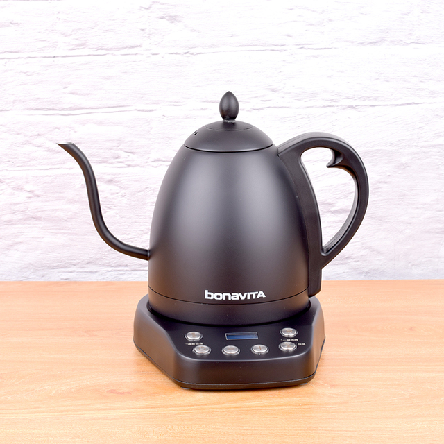 Bonavita Electrothermal pot Electric coffee drip Kettles stainlesssteel Temperature control pot 220V 1000W 50HZ 1