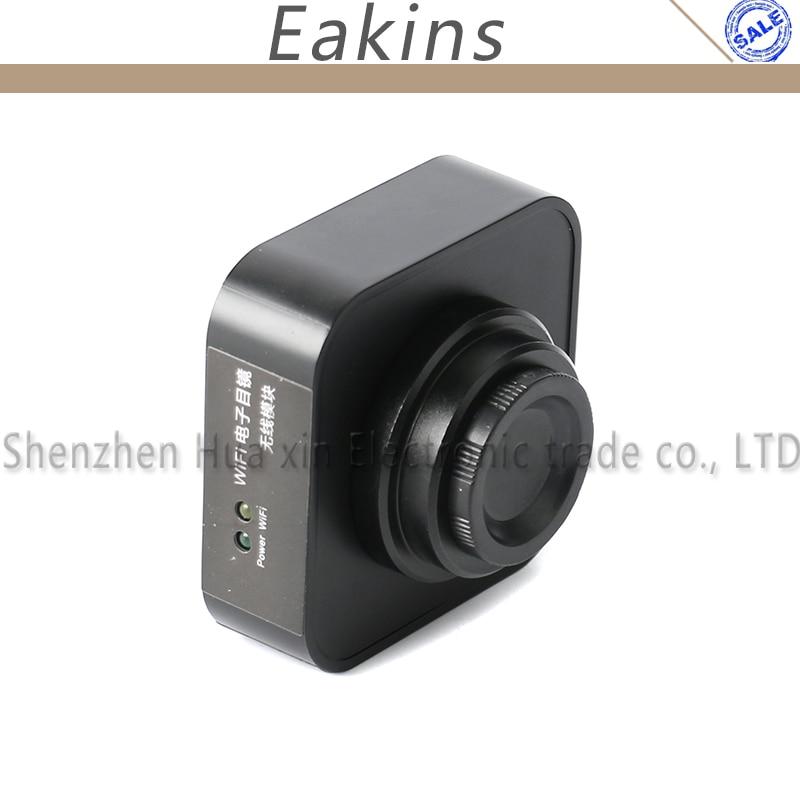 Le Microscope industriel de WIFI Camer les sorties d'usb Wi-Fi prennent en charge la caméra de c-mount de tablette de téléphone d'ios Android