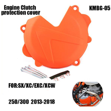 Motorcycle Engine Right Clutch Case Cover Guard Protector for KTM 250 300 SX XC EXC XCW TE Motocross 2013-2016 free shipping clutch cover protection cover water pump cover protector for ktm 250 sx f 2013 2015