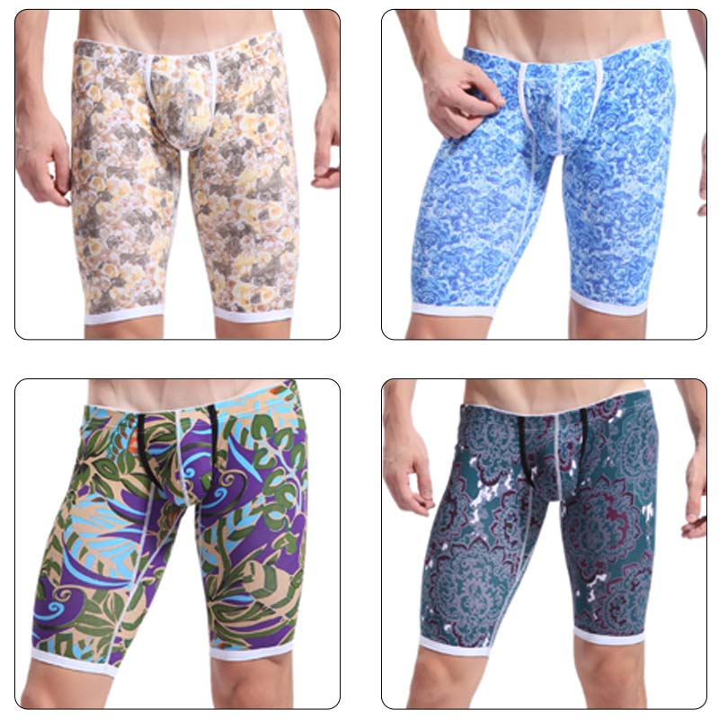 Compression-Shorts Clothing Joggers Homme Cotton Mens 4005 ZK Sexy