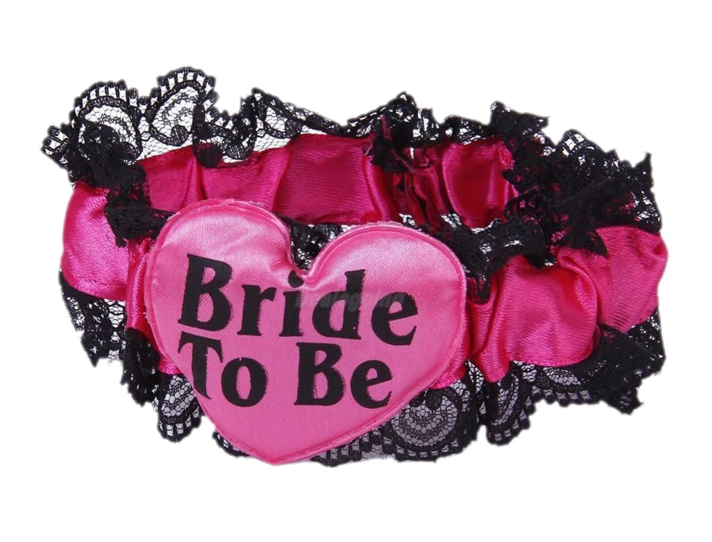 Sweet Bride To Be Lace Garters Wedding Party Hen Party Supplies Team Partner Dance Leg Circle