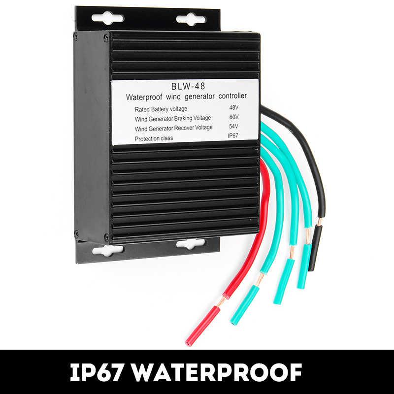 جهاز تحكم في مولد توربينات الرياح 48 فولت عالي الكفاءة مضاد للماء IP67