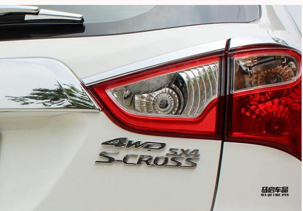 4WD внедорожника наклейки металлический корпус автомобиля наклейки стандартные четыре колеса используется для 2014-2016 suzuki SX4 S. крест