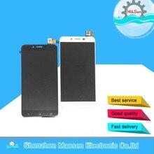 Хорошее M & Sen для 5.5 «zc553kl Asus Zenfone 3 Max zc553kl ЖК-дисплей экран + Сенсорная панель планшета белый/черный бесплатная доставка
