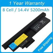 New 8 cell 5200mah laptop battery for lenovo ThinkPad X201 Tablet