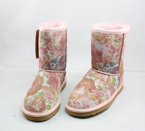 Free Shipping 2012 ubg5825 boots genuine leather snow boots ash phoeni 5825