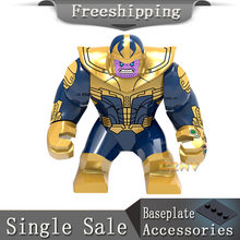 Super Heroes Pop Avengers Infinity War Gauntlet Iron Man Thanos Thor Building Blocks sets toy hobbies Figures EG113(China)