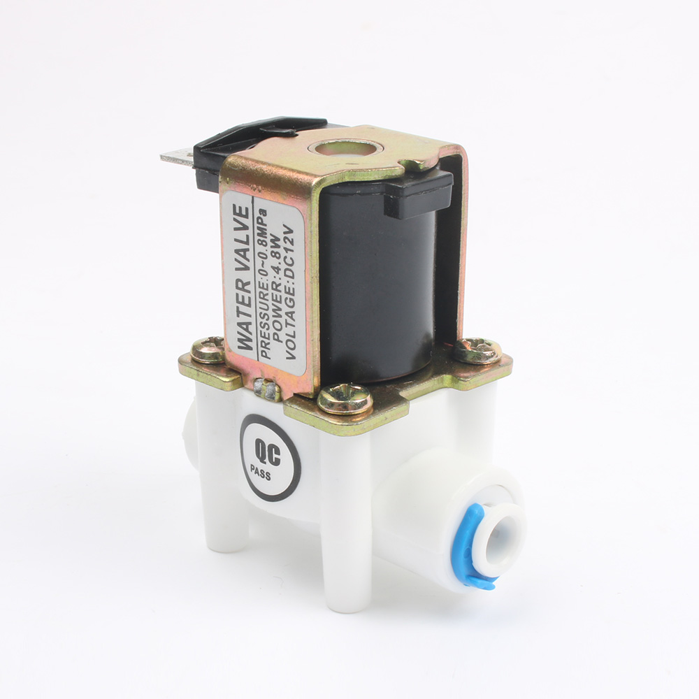 1PC Electric Solenoid Valve Magnetic DC 12V Water Air Inlet Flow Switch 1/4