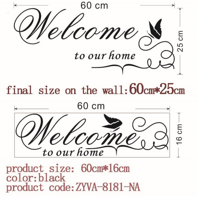 HTB1avBLHpXXXXX8XXXXq6xXFXXXD - welcome to our home quote wall decal-Free Shipping