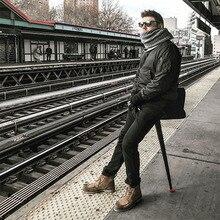 Katlanır balıkçı sandalyesi Açık bekleyen kuyruk artefakt taşınabilir metro seyahat ışık mini taşınabilir koltuk teleskopik