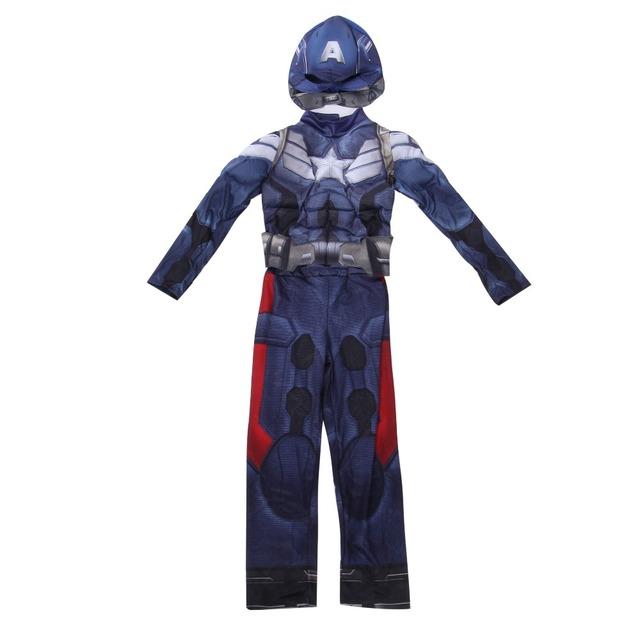 Halloween Muscle Costume Captain America Movie 2