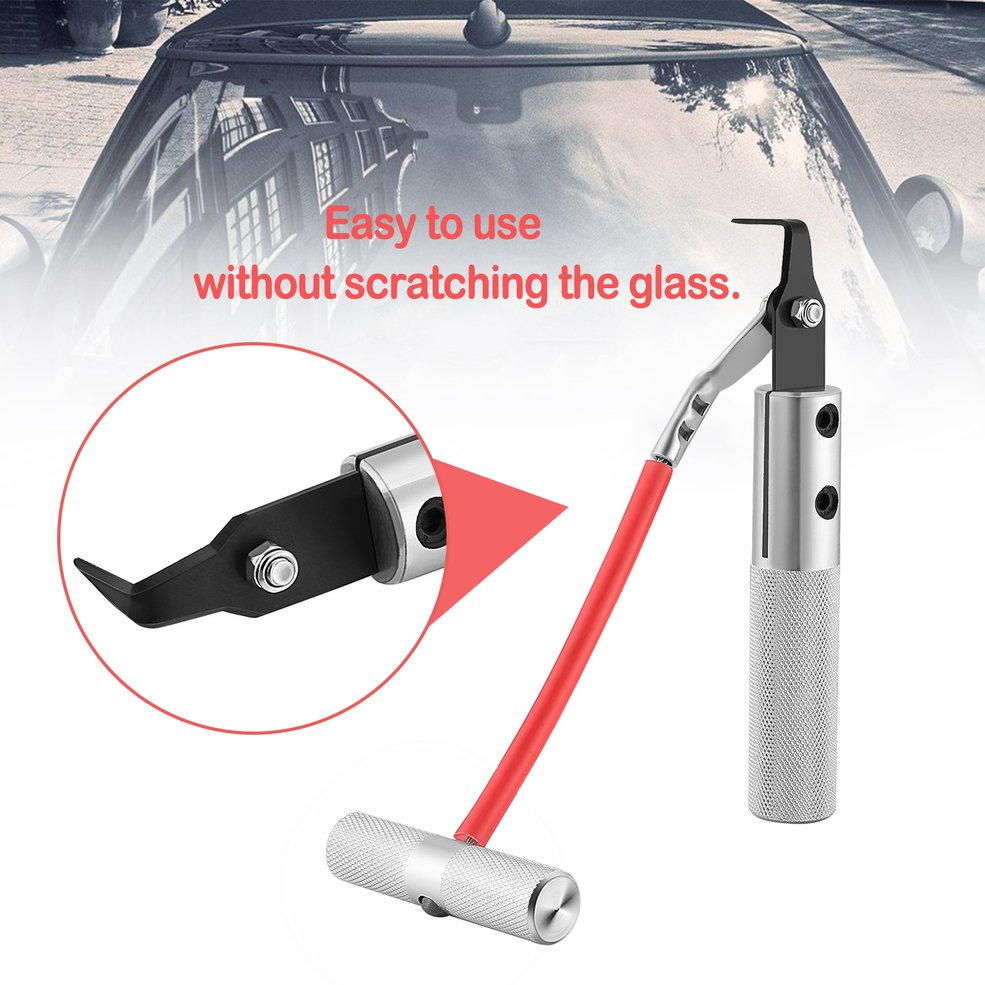 Wind Shield Remover Auto Car Window Glass Seal Rubber Removal Repair Tool 1-Set