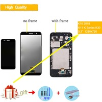 LCD display For LG K10 2018 LCD Touch Screen Digitizer LCD Replacement Parts for LG K10 2018 k11 k30 LCD complete assembly