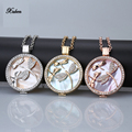 my 35mm coin holder pendant necklace stainless steel rose gold silver dragonfly mi 33mm coins shell fit 80cm chain free shipping