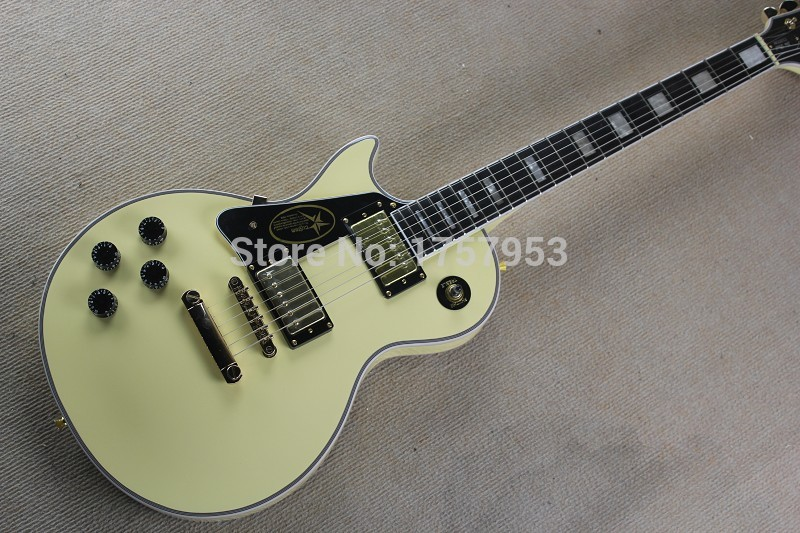 Free Shipping Factory Custom Shop 2017 new Custom left hand Vintage White Electric guitar Lefty Hand Guitar 3 23
