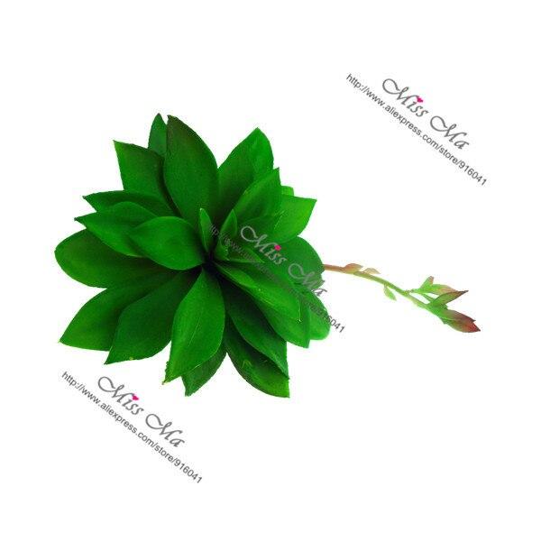 Indigo-eeuw Plant Agave Kunstmatige Vetplant Plastic Bloem Tafel Decoratie Groene Plant Achtergrond Gratis Verzending