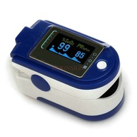 Oximeter Finger Clip Portable Oxygen Saturation Detector Pulse Heart Rate Monitor Household Monitoring Oximeters Hot Sale