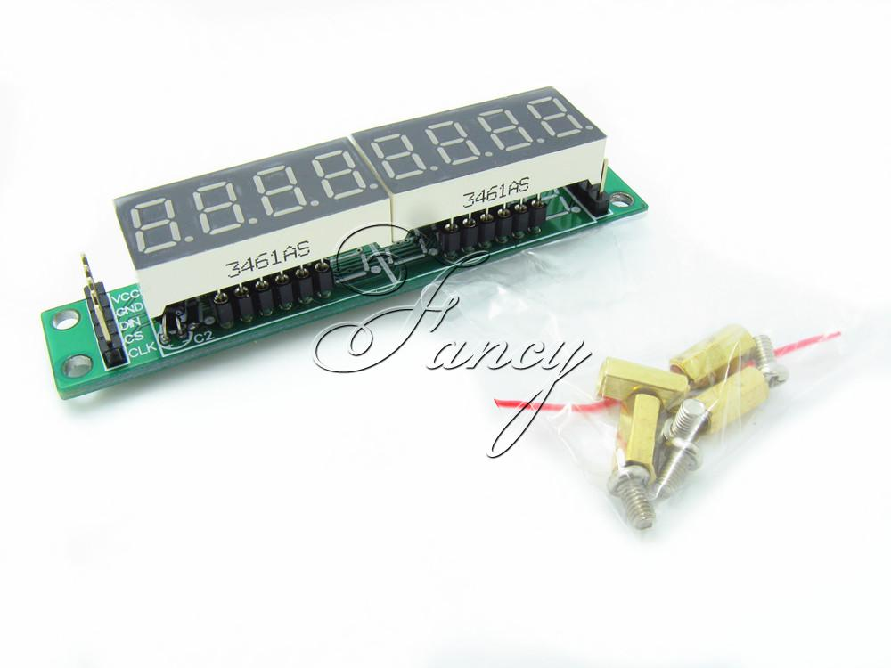 MAX7219 CWG 8-Digit Digital Tube Display Control Module Red for arduino