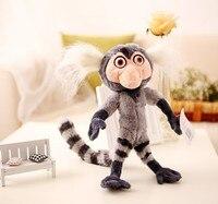 new creative Rio movie plush marmoset monkey plush toy gift doll about 28cm